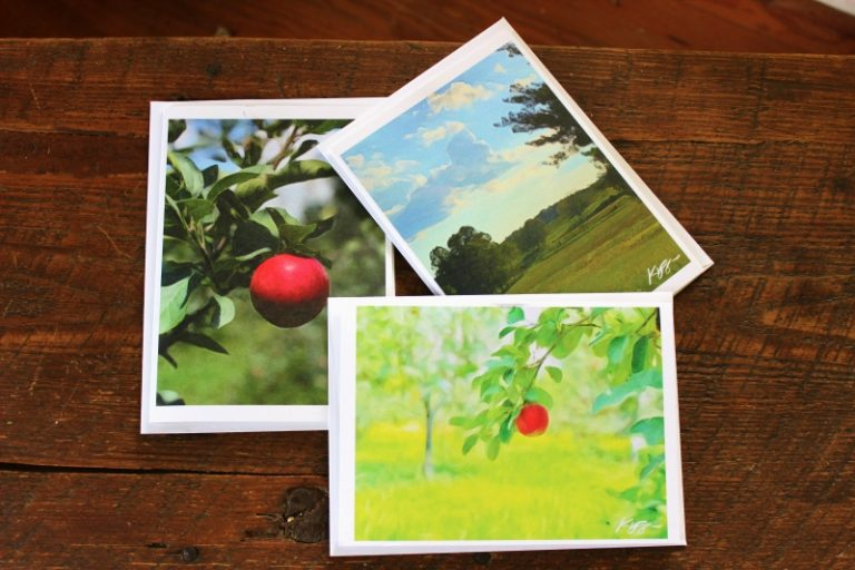 Orchard Notecards